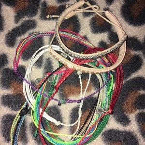 Lot of Pura Vida bracelets